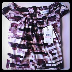 Calvin Klein sleeveless blouse size 2x NWT